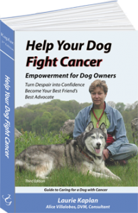 """Help Your Dog Fight Cancer"" book proceeds to the fund"